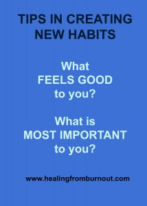 how to start and maintain good habits