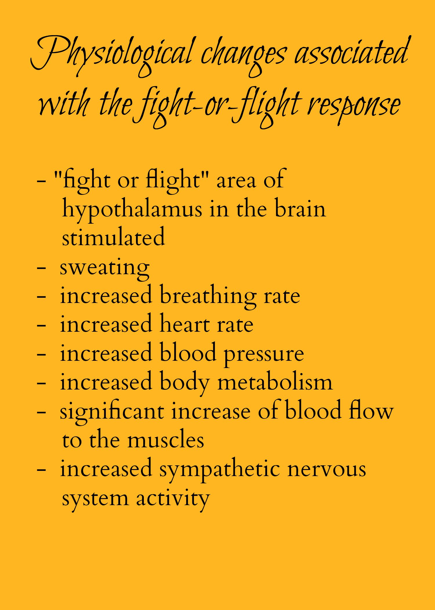 Mieabfreew Fight Or Flight Reactions Include Activation Of B